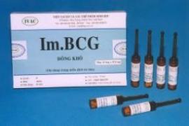 BCG 37,5mg: Chế phẩm trị liệu U Bàng Quang Im