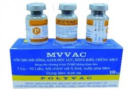 MVVAC : Vắcxin phòng bệnh Sởi