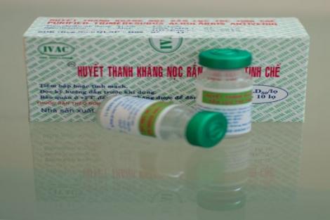 SAV - a: Huyết Thanh Kháng Nọc rắn Lục Tre
